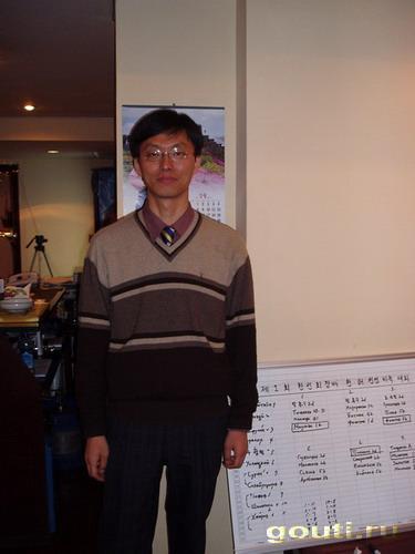 Ли Хек - кореец, долгое время возглавляет список сильнейших игроков России