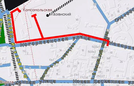 Схема проезда в чайную Ча-Ши и клуб Го Территория