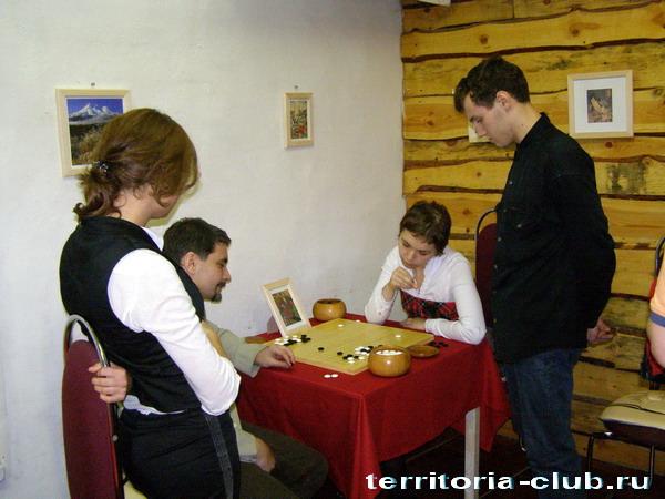 Первые гости клуба го Территория