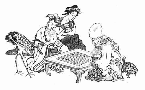 Игра Го. Лао-цзы vs Конфуций