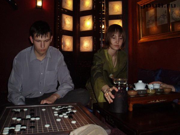 Церемония Го и церемония чая, - две партии без проигравших и победивших... два взаимодополняющих Пути...