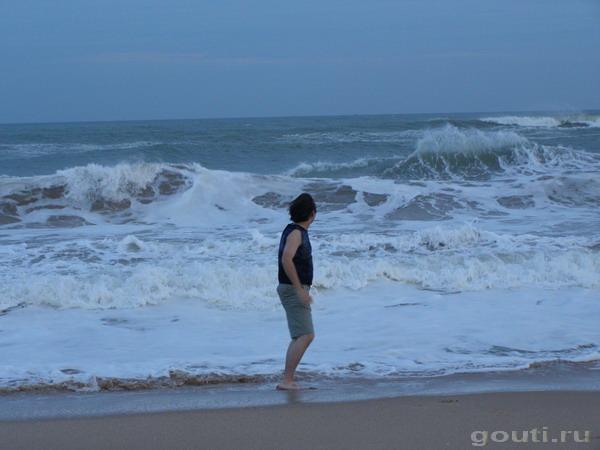 четырехступенчатая океаническая волна