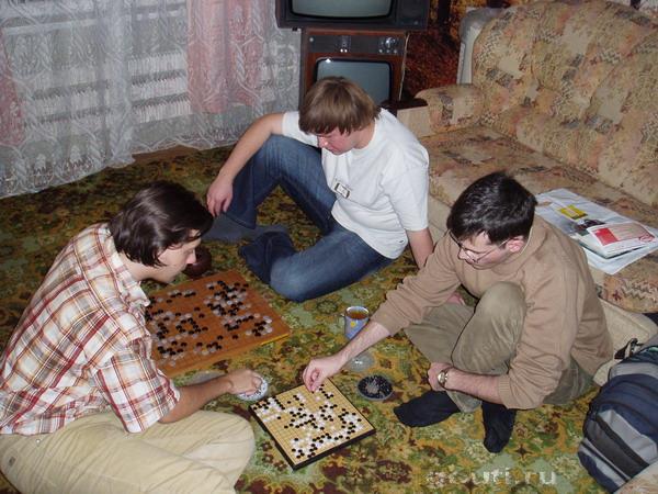 """Тимур и Григорий в импровизированном сеансе """"побыстрому"""""""