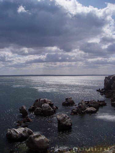 Сад камней. Июль 2004, Крым, Казантип. (с) Малютин Д.В.