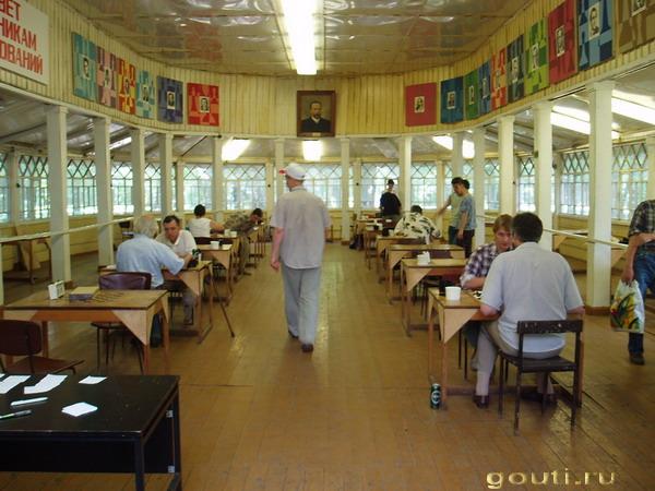 шахматный клуб в Измайлово