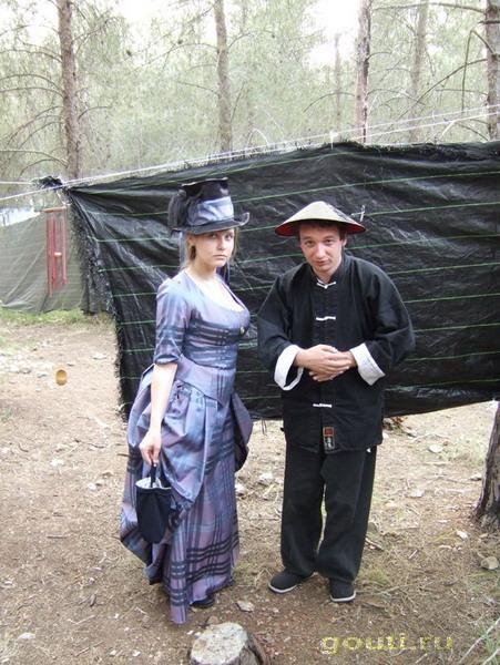 Это в Бен-шеменском лесу, игра по Викторианской эпохе.
